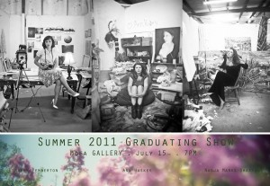Summer Graduating Artists