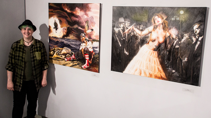 """MANDEM (M. Arendsee) with """"Marooned"""" and """"Herr Drosselmeyer's Doll"""" at the FSU MoFA (June 2013)"""