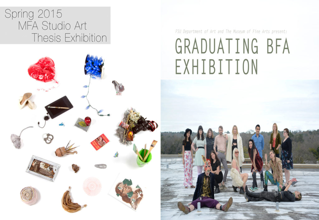 Combined mfa bfa spring 15 posters