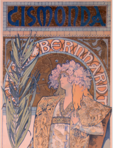 Alphonse Mucha & Art Nouveau Closing Tour November 20, 2016 3pm with Collector Patrick Rowe