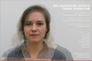 Spring Graduating Artists Exhibition (April 7 – May 4)